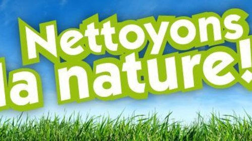 Nettoyons la nature le 28 septembre 2019 à 8h30 RV parking mairie